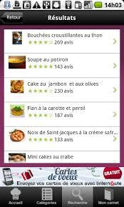 logiciel recette cuisine cuisine 25 000 recettes pour android télécharger