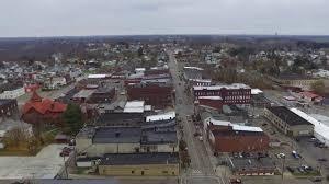 Barnesville Pumpkin Festival Times by Drone Flight Over Barnesville Ohio Youtube
