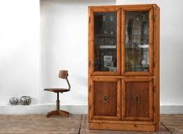 vitrine holz antik alt schrank vitrinenschrank antik vintage alt loft deco glas