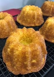 mini paradiescreme kuchen in der mini guglhupf form