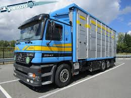 100 Cattle Truck For Sale MERCEDESBENZ Actros 2543 Livestock Trucks For Sale Cattle Truck