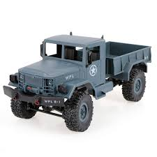 Amazon.com: Goolsky WPL B-1 1/16 2.4G 4WD Off-Road RC Military Truck ...