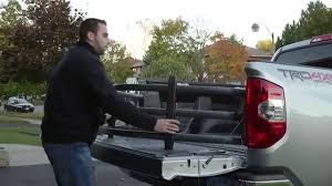 toyota genuine tundra bed extender youtube