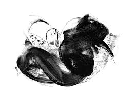 Black And White Art Print Abstract