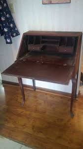 Drop Front Secretary Desk Antique by What Do Stamped Numbers Mean On Antique Furniture I Have My