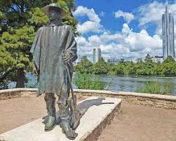 SRV Stevie Ray Vaughan Statue Austin Texas