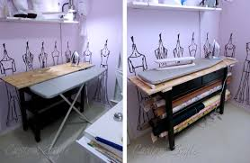 Diy Sewing Cabinet Plans by Build Your Own Ironing Table Custom Style