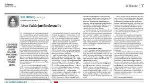 bureau d aide juridictionnelle abus d aide juridictionnelle sos conso