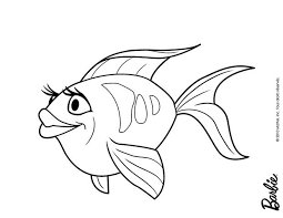 Lovely Fish Of Oceana Printable Coloring Pages