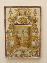 El retablo de la Virgen del Pilar una de las