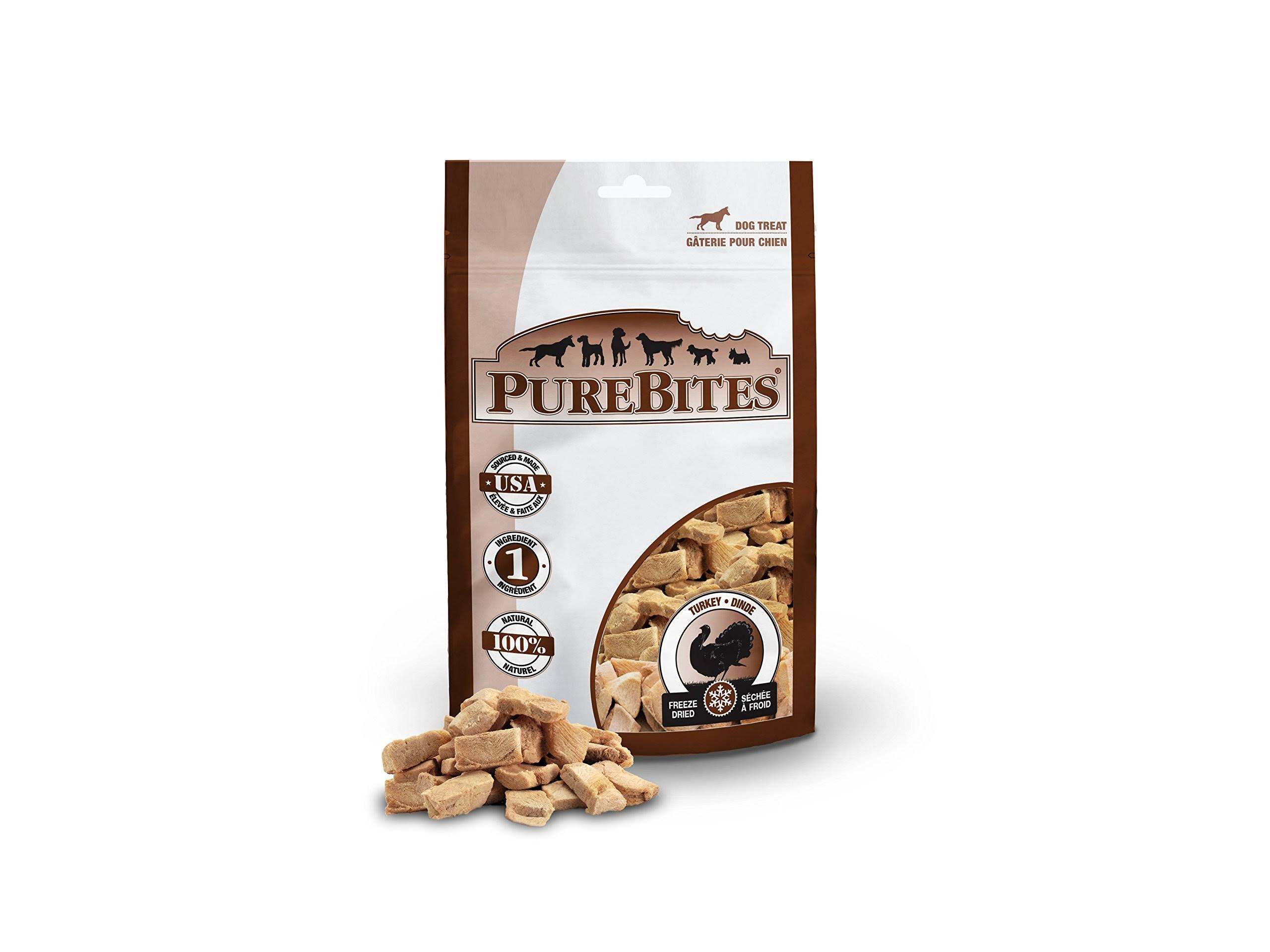 PureBites Freeze Dried Turkey Breast Dog Treat - 1.16oz