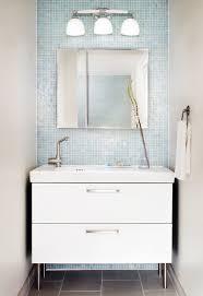 Small Modern Bathroom Vanity by Bathroom Killer Small Modern Bathroom Design Using Light Blue