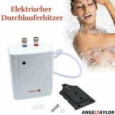 details zu elektrischer durchlauferhitzer küche badezimmer warmwasser heizung 220v 3500w de