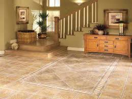 Dining Room Flooring Living With Stone Tile Floor Combined Timber Wood Cozy