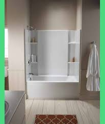 can you paint a tub insert gray bathroom love the border around