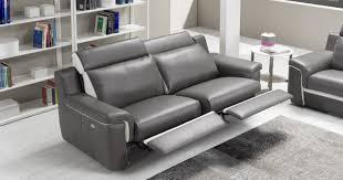 cilia canapé cuir relaxation électrique personnalisable sur