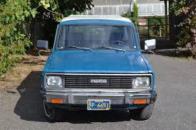 100 Diesel Small Truck Blue Coal Rollin 1982 Mazda B2200 Pickup