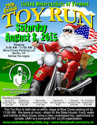 100 St Johnsbury Trucking 2015 29th Annual United Motorcyclists Of Vermont Toy Run United