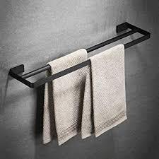 moerc handtuch stacker edelstahl handtuch regal schwarz