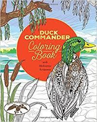 Amazon Duck Commander Coloring Book 9781501157417 Philis Boultinghouse Books