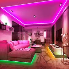 led 10m rgb led lichterkette streifen lichtband mit fernbedienung farbwechsel hell 5050 led band leiste lichterketten