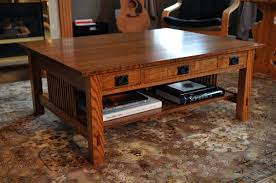 oak coffee table plans free thesecretconsul com
