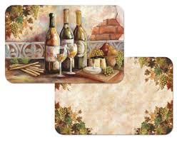Grape Kitchen Decor Theme Ceramics Wine Tuscan Canister