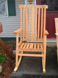 Pine Outdoor Rocker From KregJigning