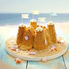 12 Sandcastle Inspired Cakes Bakes