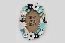 Diy Paper Frame For Wall Flowers Art