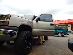 Lifted Chevy Silverado On 35