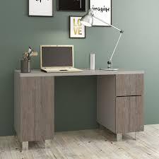 bureau chene clair avantarea bureau chêne et gris clair 140x50 españa