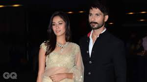 Shahid Kapoor Mira Rajput top our best dressed list