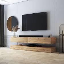 selsey hylia tv board fernsehschrank für wohnzimmer mit 2 schubladen holzoptik wotan eiche 140 cm