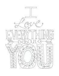 Collection Of Solutions I Love You Coloring Pages For Adults Letter