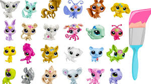 LPS Mystery Surprise Blind Bags Paint Splashin Pets Littlest Pet