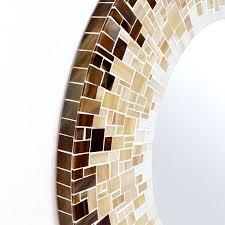Brown Mosaic Bathroom Mirror by 37 Best פסיפס מראות Images On Pinterest Mosaic Mirrors Mosaic