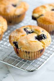 These Blueberry Muffins Are Quick And Easy With A Moist Tender Center Bursting Blueberries