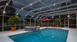 lighting pool deck designs and options beautiful replacing a