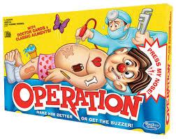 Hasbro Games OPERATION GAME Hero