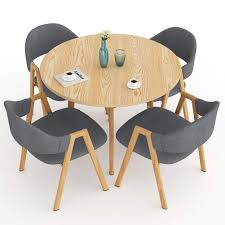 Amazon.com - LITTLE TREE Dining Table Set, Modern Round Kitchen ... Kitsch Round Glass Table Set Of 4 Chairs Dfs Ireland Mcombo Mcombo Ding Side 4ding Clear Ingatorp And Chairs White Ikea Cally Modern Table With La Sierra Fniture Grindleburg 60 Woodstock Carisbrooke Barker Stonehouse Dayton 48 Upholstered Shop Hlpf5cap 5 Pc Small Kitchen Setding Hanover Traditions 5piece In Tan A Jofran Simplicity Chair Slat Back Pier 1 W Aptdeco Rovicon Lulworth Pedestal