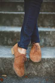 Love Brown Suede Oxfords My Favorites And Reminds Me Of Mom Who Always Wore Them When I Was Growing Up Classics Never Go Out Stylethey Define