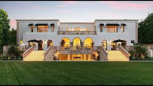 100 Holmby Stunning Luxury Northern Italian Style Mansion In Hills