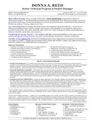 Awesome Technical Product Manager Sample Resume Daily Project Management Skills In