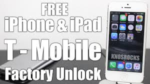 How To IMEI Factory Unlock T Mobile ALL iPhone & iPad Free Any