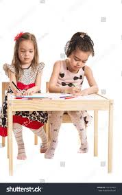 Two Girl Sitting On Chairs Drawing Stock Photo 276739463 ... Portable Drafting Table Royals Courage Easy Information Sets Of Tables And Chairs Fniture Sketch Stock Vector Artiss Kids Art Chair Set Study Children Vintage Metal Desk Drawing Industrial Fs Table By Thomas Needham Carving Attributed To Cafe Illustration Of Bookshelfchairtable Board Everything Else On Giantex Modern Adjustable Two Girl Sitting On Photo 276739463 Antique Couch Png 685x969px And Chairs Stock Illustration House