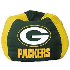 green bay packers bean bag chair nflshop com