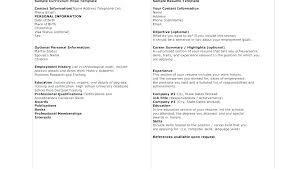 Sample Resume References Job Compatible