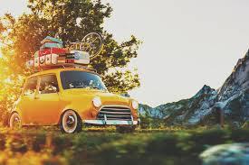 sur si e voiture vacances 15 choses à emporter si vous partez en voiture voyage