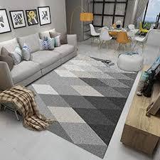 lenrtu teppich moderne druckerei grau rhombische muster